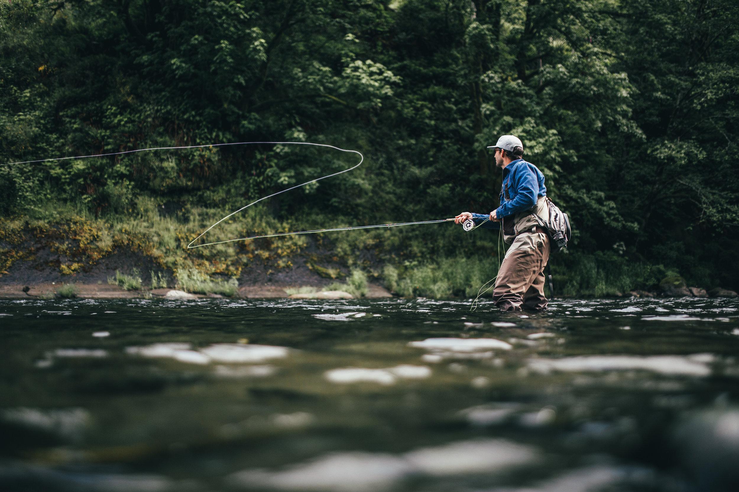 Pescuit la musca pentru incepatori